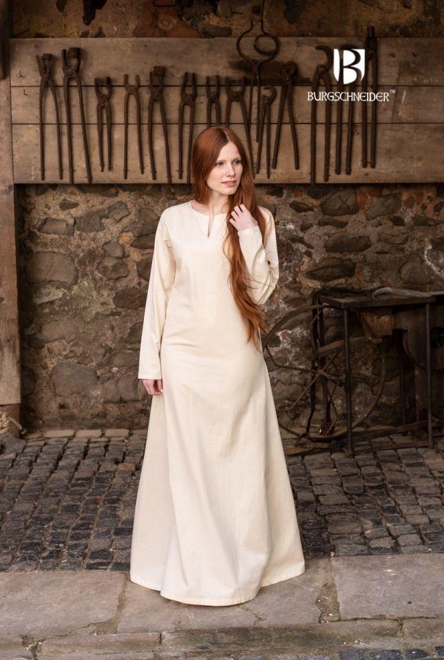 Sous-robe d'été Elisa couleur écrue 3