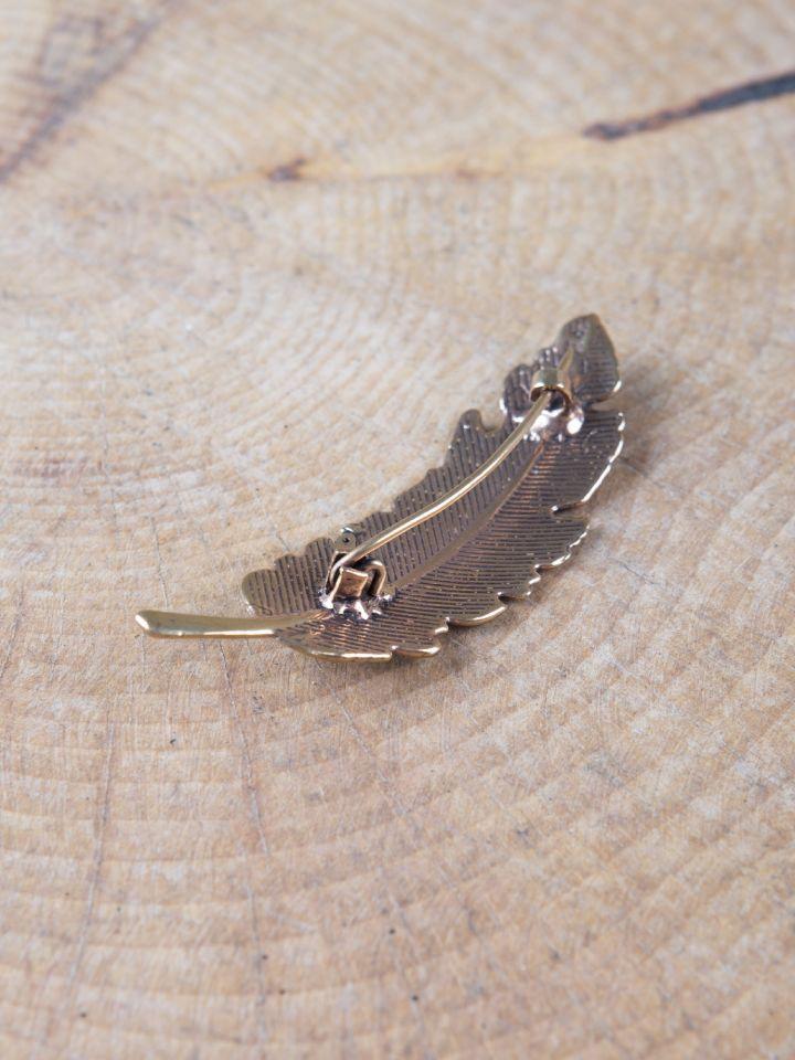 Fibule plume en Bronze 3