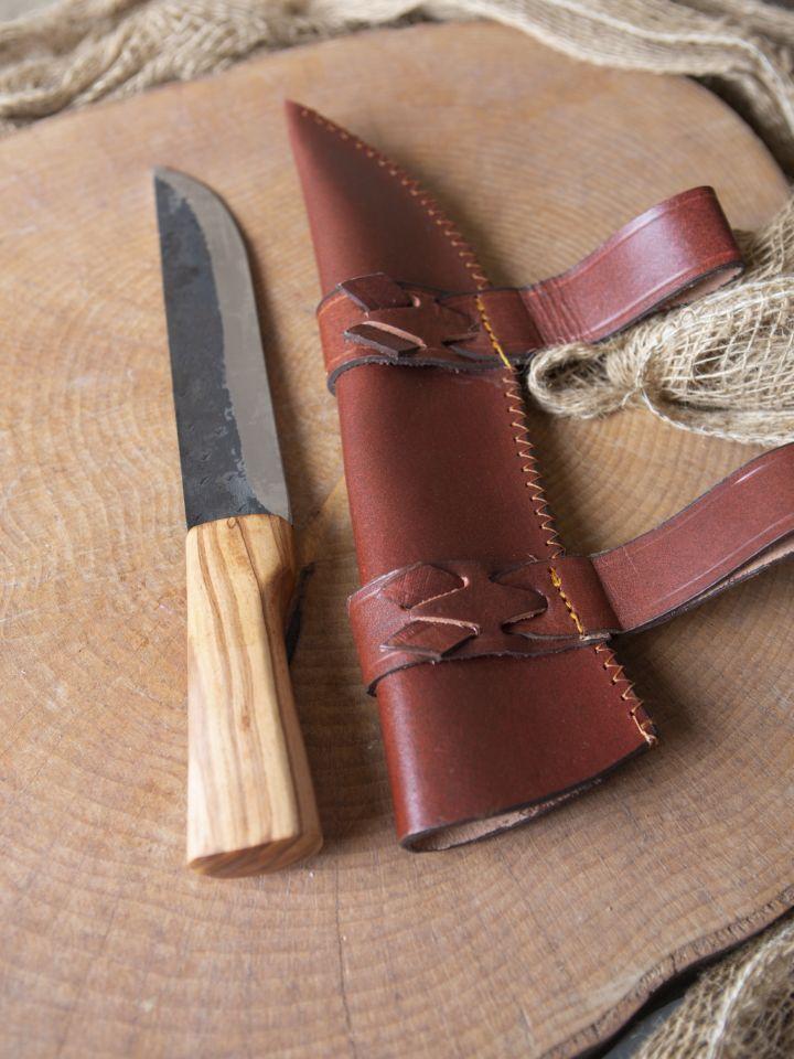 Couteau saxe avec fourreau 3