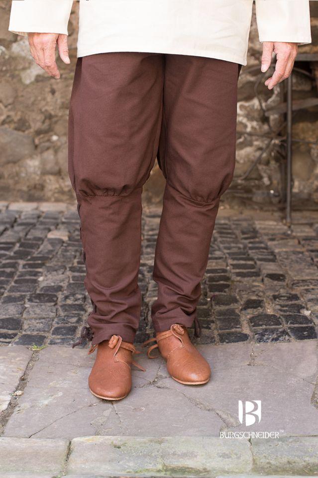 Pantalon bouffant Wigbold en marron 3