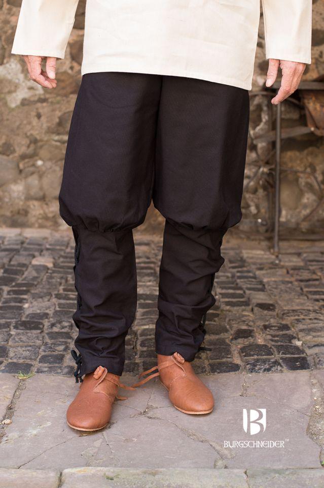 Pantalon bouffant Wigbold en noir M 3