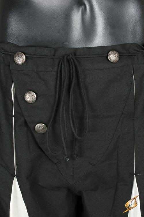 Pantalon Lansquenet noir/écru 3