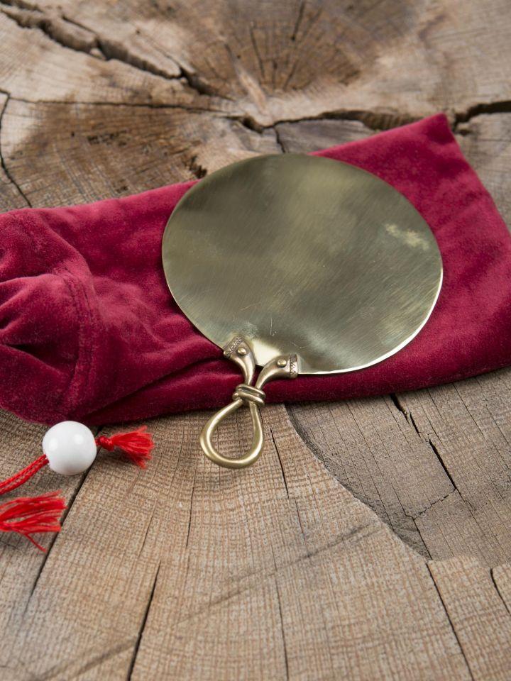 Miroir celtique en laiton , petit modèle 3