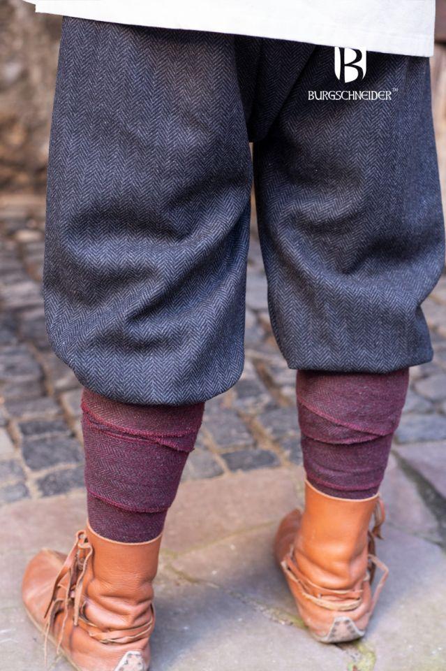 Culottes Ivar chinées noir-gris 3