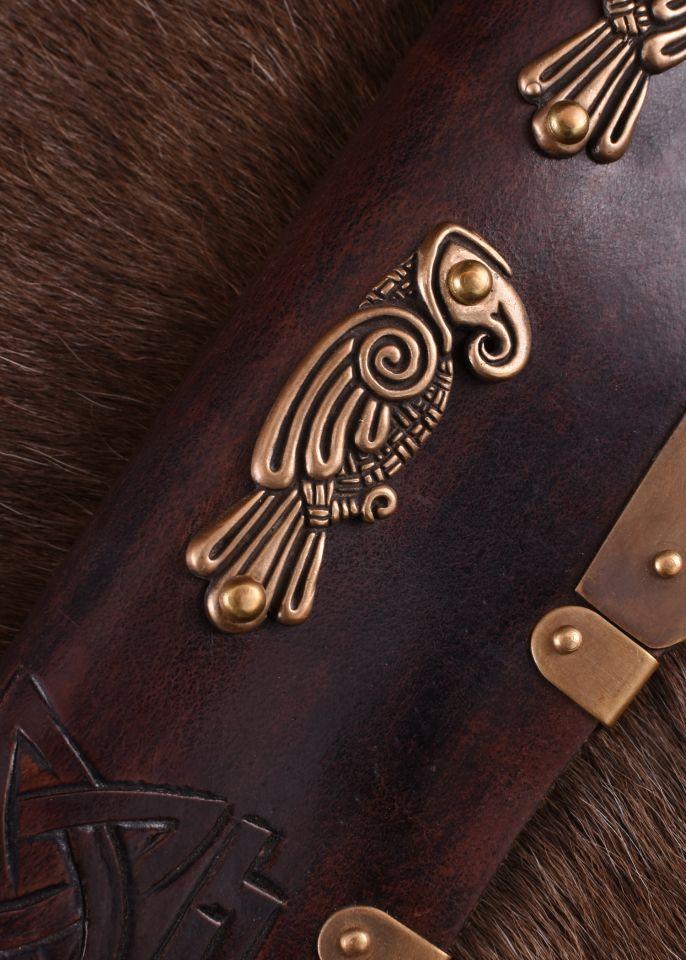 Long Sax Viking avec manche en os 3