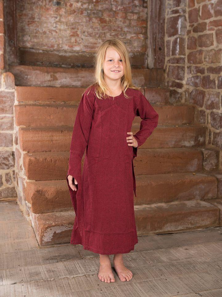 Robe médiévale en coton pour enfant 3