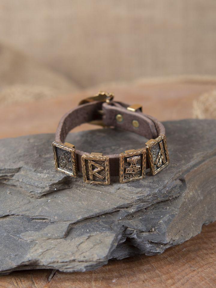 Bracelet en cuir pour Runes 3
