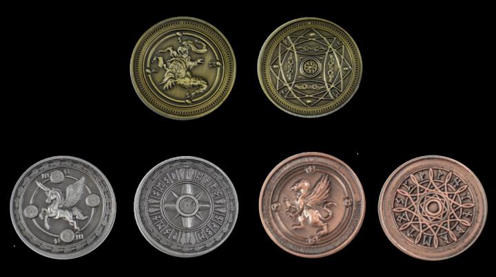 Pièces de monnaie GN Astral 3