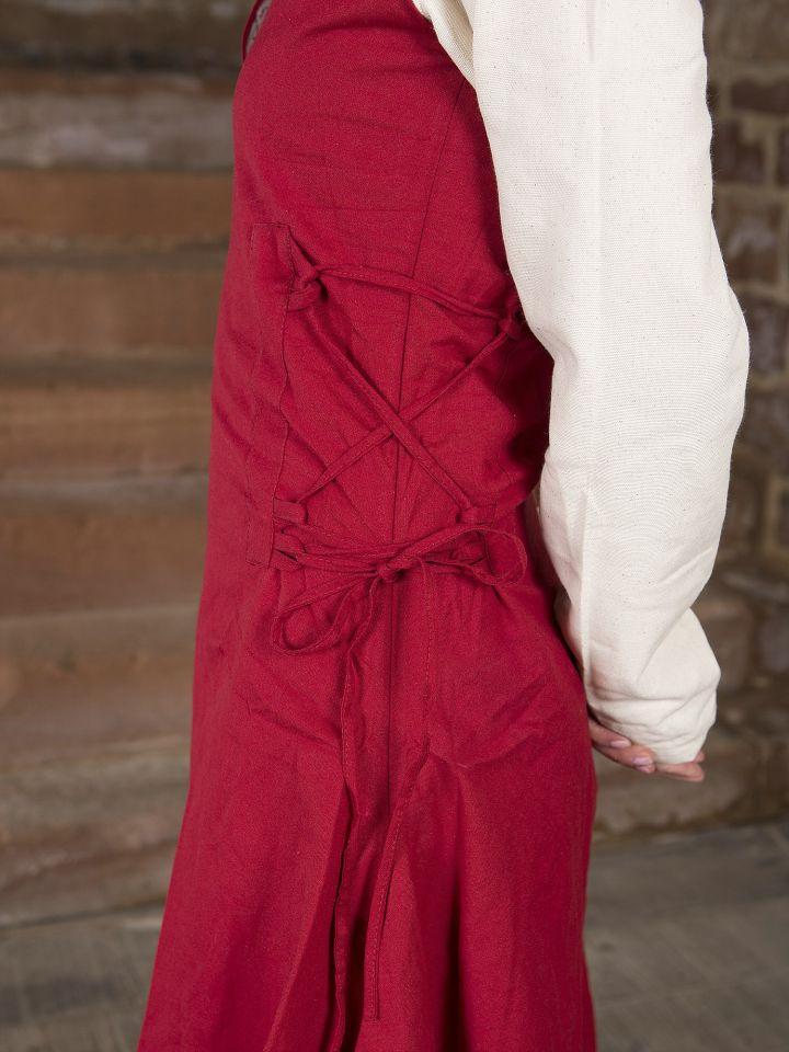 Surcot en coton épais rouge L 3