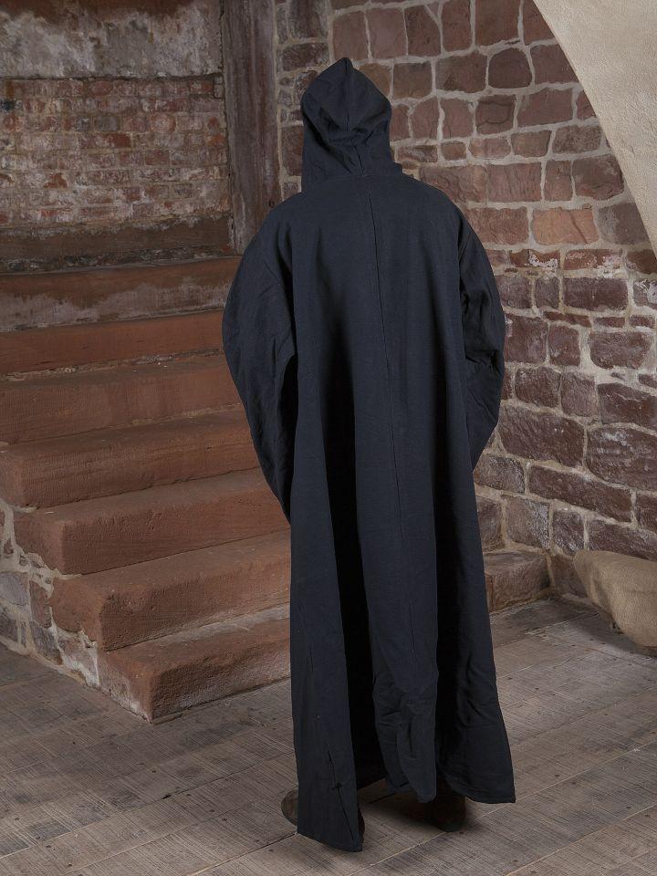 Manteau de magicien en coton en noir 3