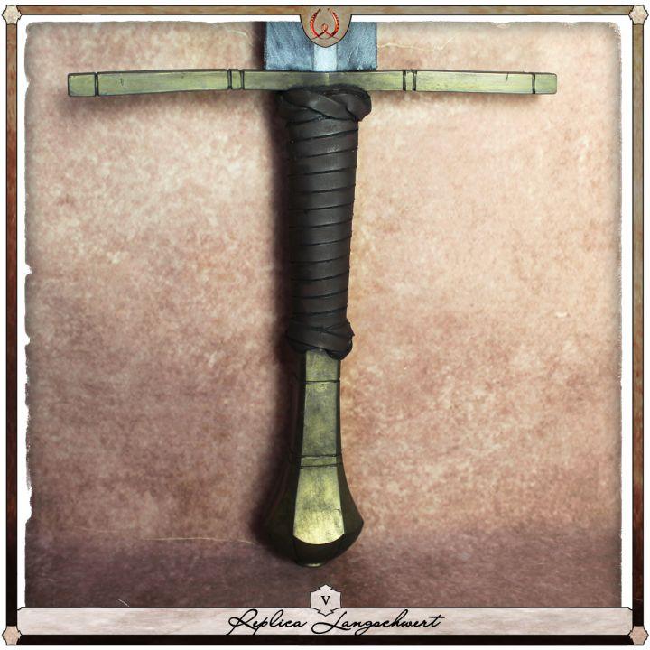 Réplique Épée longue, type V 3