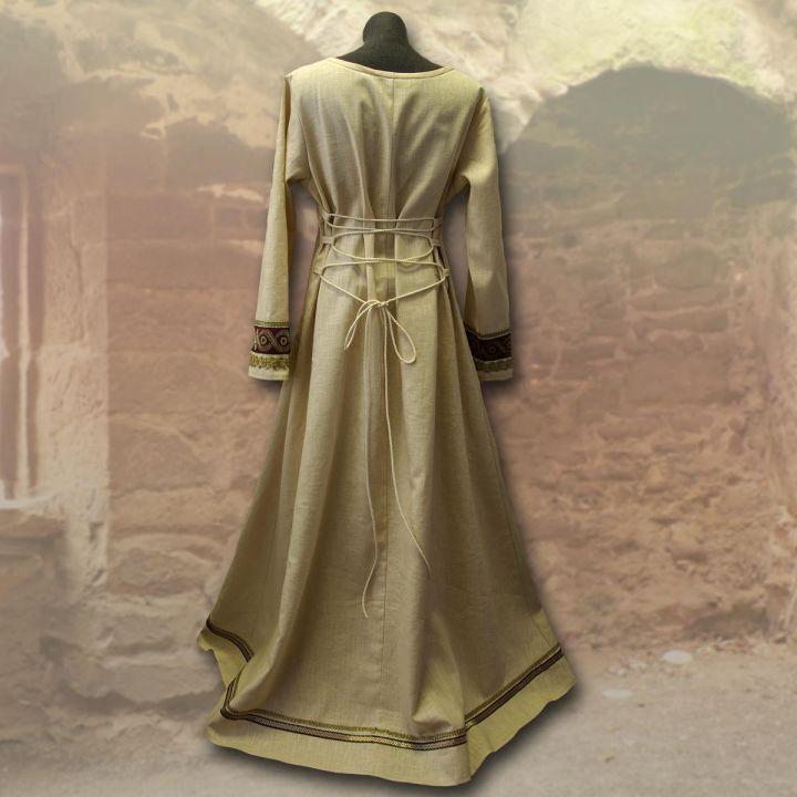 Robe viking Runhild - bordeaux 3