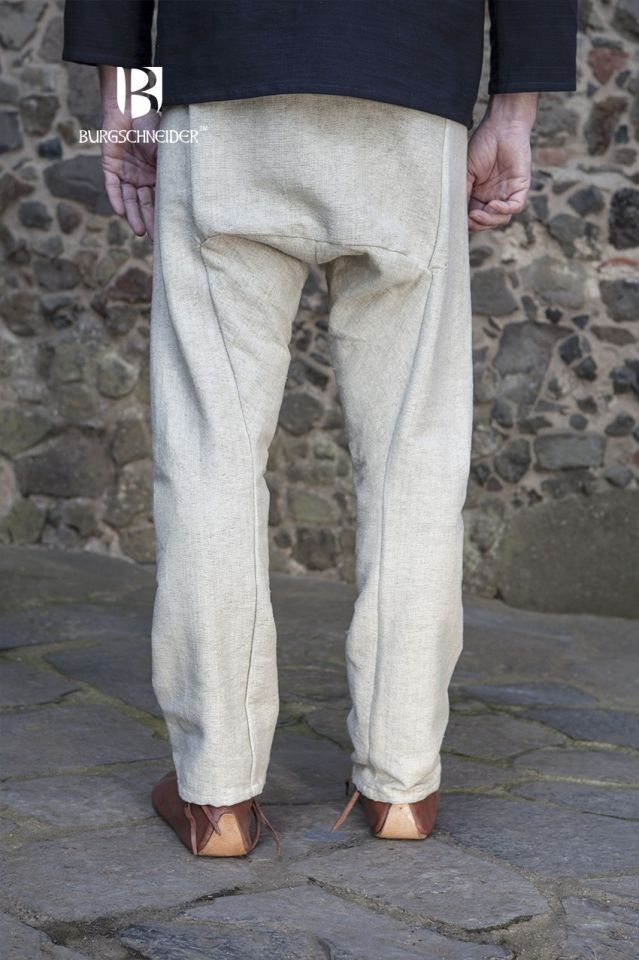 Pantalon viking Thorsberg en blanc-écru 3