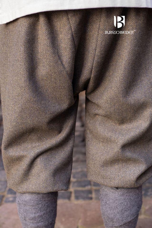 Pantalon féminin Tilda chiné vert et gris 3