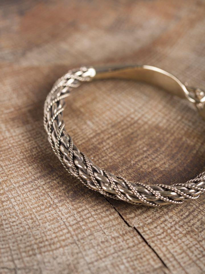 Bracelet Viking en bronze 3