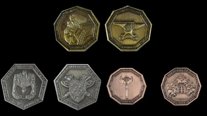 Pièces de monnaie GN 3