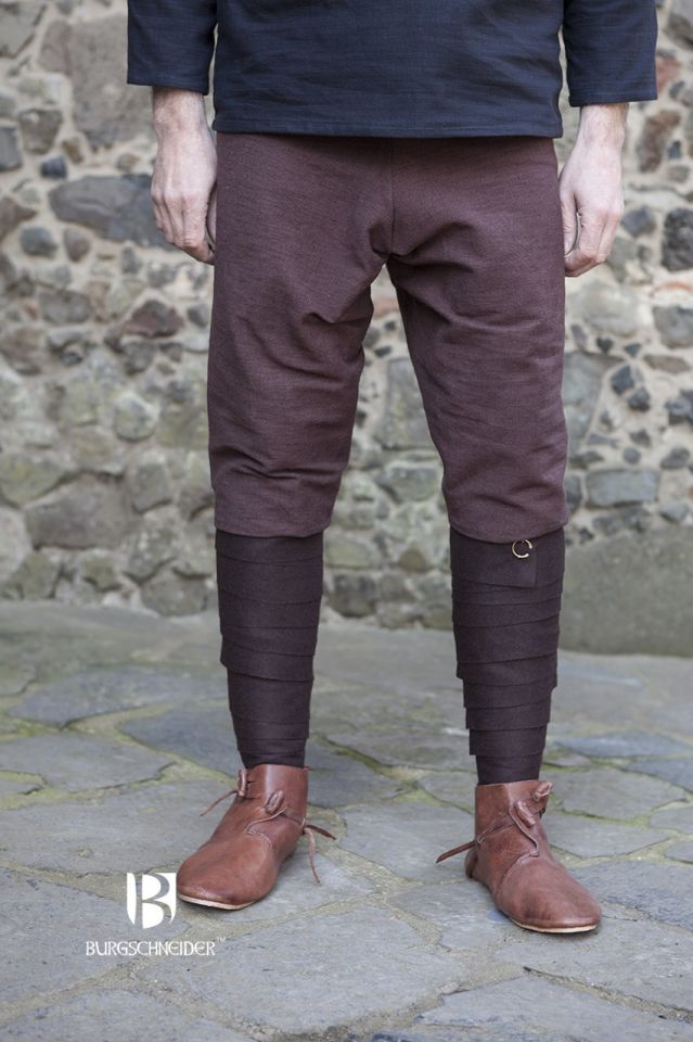 Pantalon Viking Thorsberg en marron 4