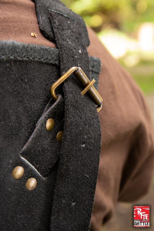 Armure Viking en cuir noir 4