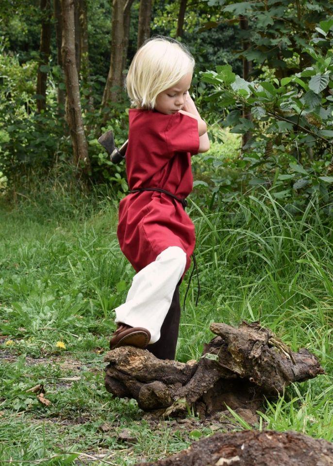 Tunique enfant manches courtes, en rouge 4