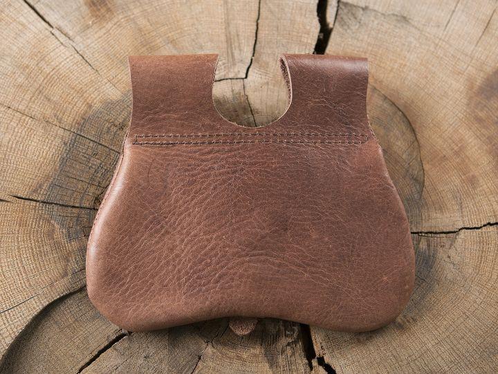 Sacoche de ceinture en nubuck aspect cuir 3