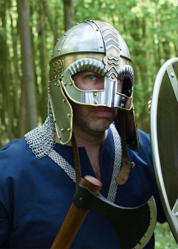 Casque Viking à lunettes 4