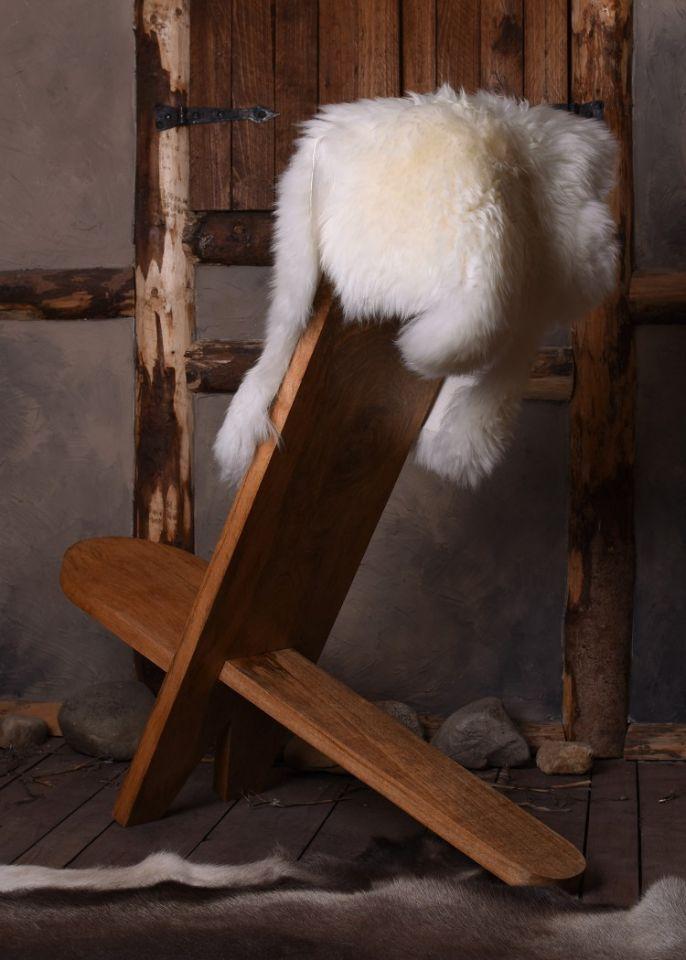 Chaise haute en manguier 4
