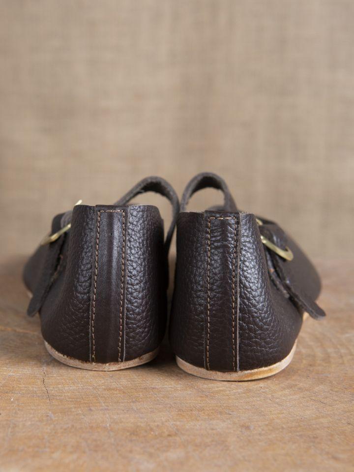 """Chaussures """"Hedwig"""" Haut/Fin - Moyen Age 4"""