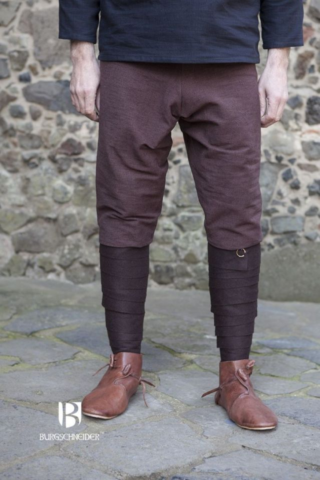 Pantalon Viking Thorsberg en marron XL 4