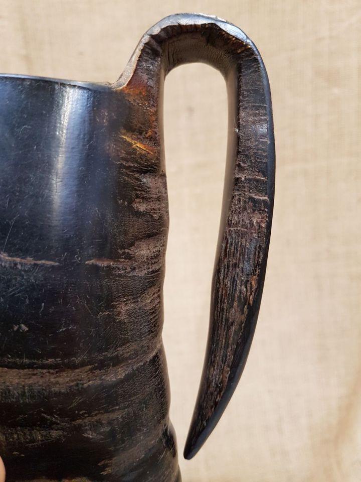 Mug en corne de buffle, 12,5 cm 4