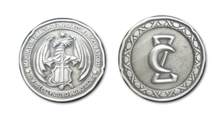 Pièces de monnaie GN Dragon 4