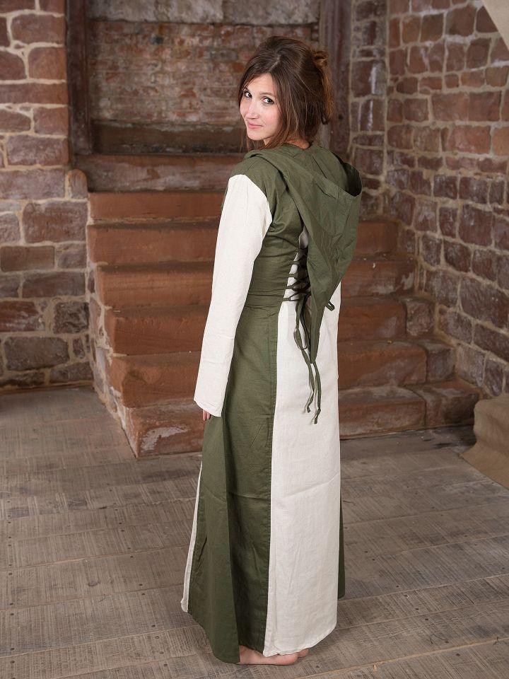 Robe médiévale à capuche 4