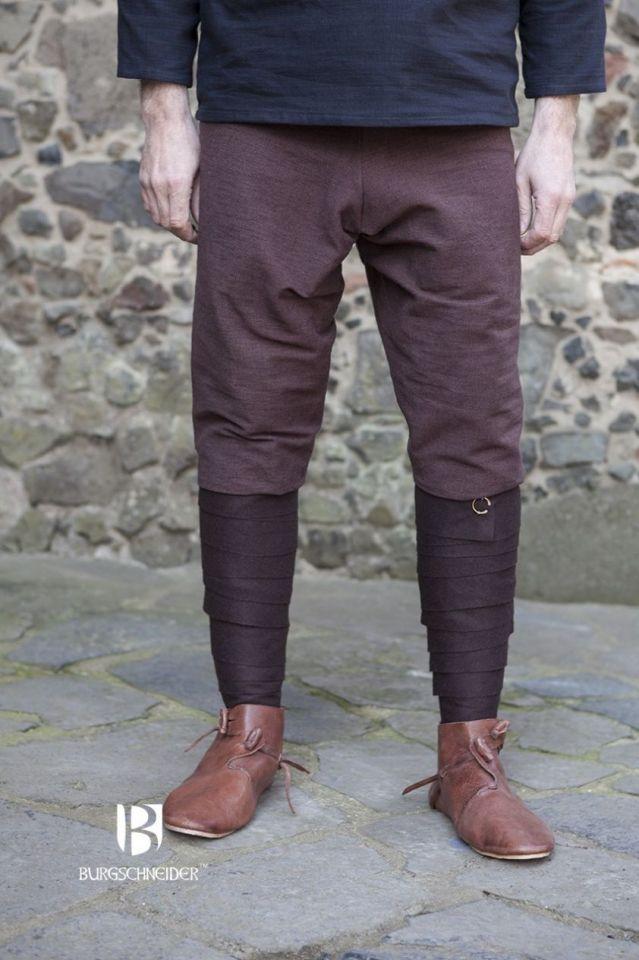 Pantalon Viking Thorsberg en marron S 4