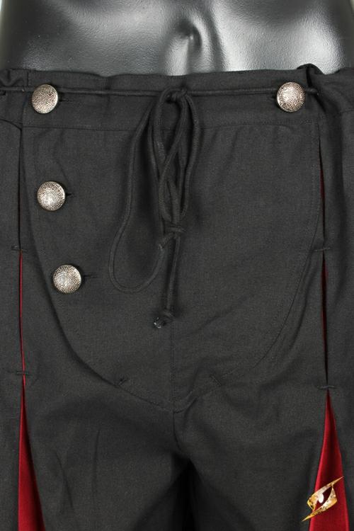 Pantalon Lansquenet noir/rouge M 4