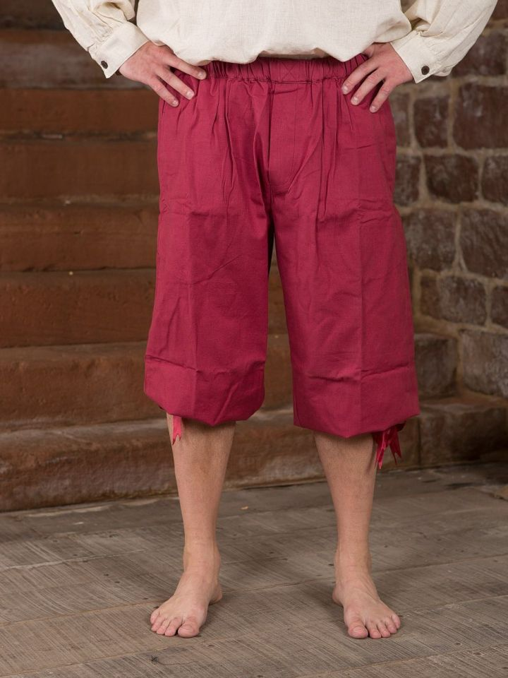 Pantalon médiéval court XL | noir 4