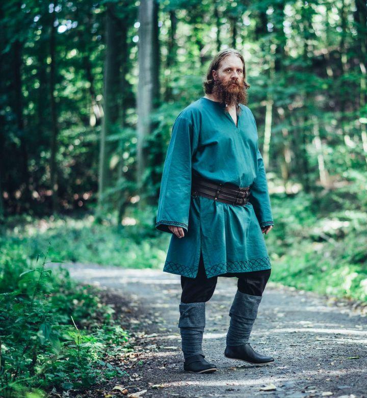 Tunique viking Einar en vert 4