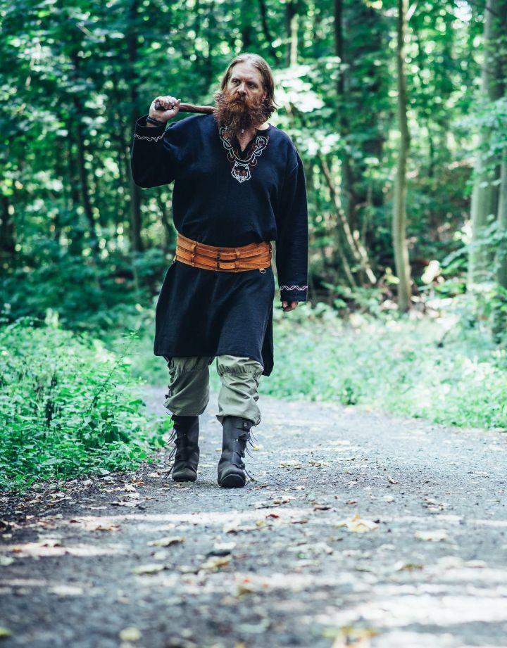 Tunique viking Fenrir noire 4