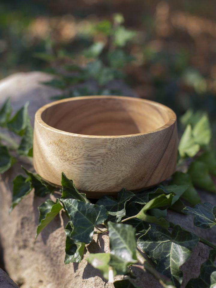 Ramequin conique en bois d'acacia 4