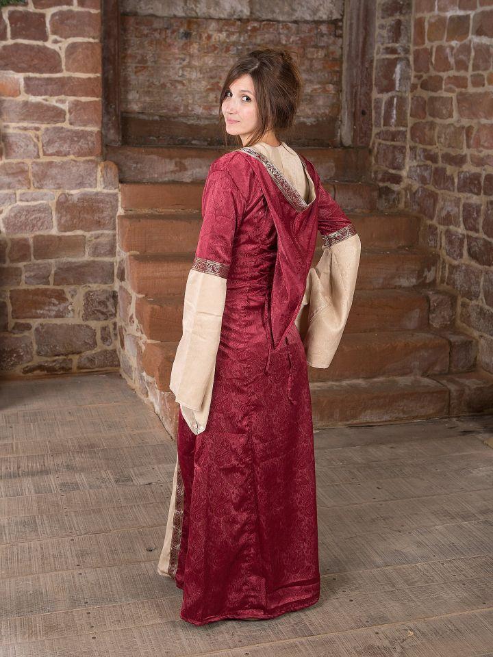 Robe médiévale avec capuche 4