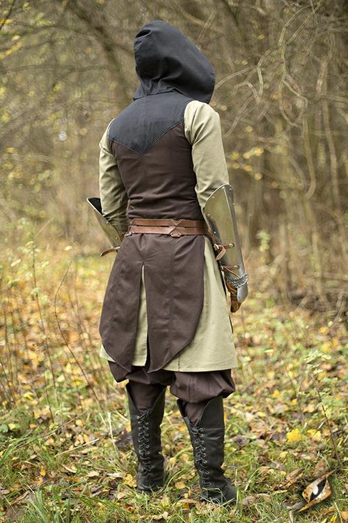 Manteau Altair marron-noir S/M 4