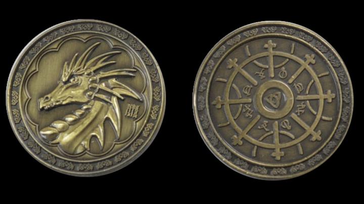 Pièces de monnaie GN Magie 4