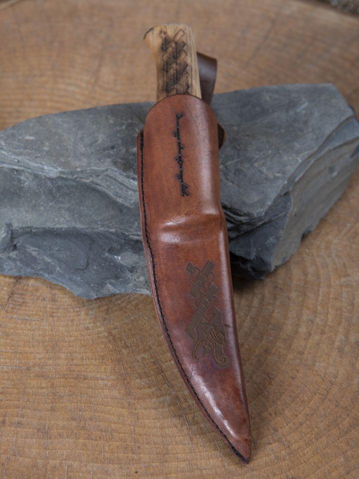Couteau scandinave Dragon 4