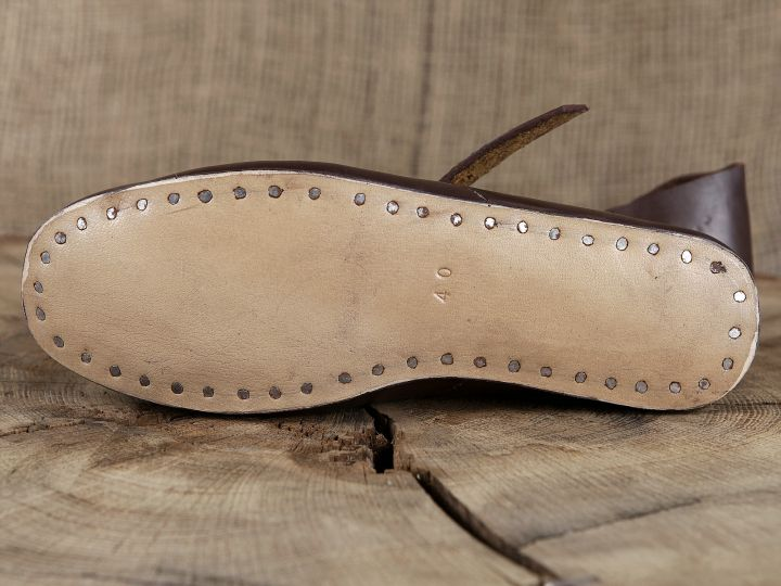 Chaussures médiévales en cuir 38 4