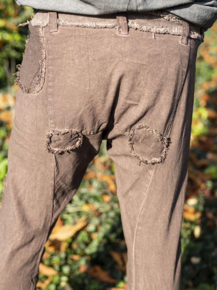 Pantalon Buri marron 4