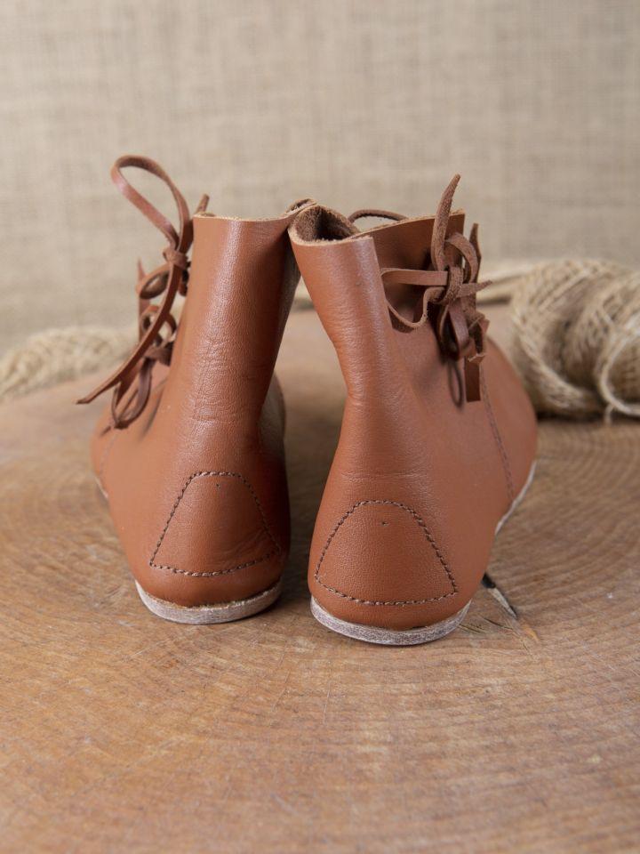 Chaussures médiévales à lacets pour enfant 4