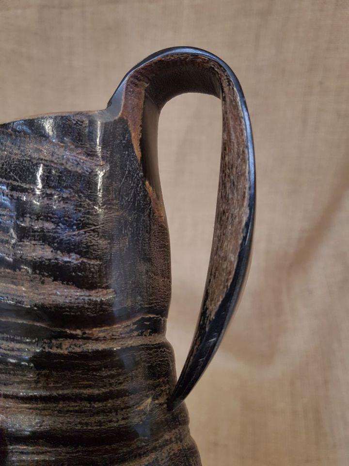 Chope en corne de buffle, 15 cm 4