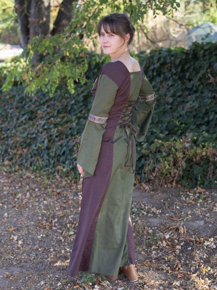 Robe médiévale à manches amovibles (version 3/4) 4