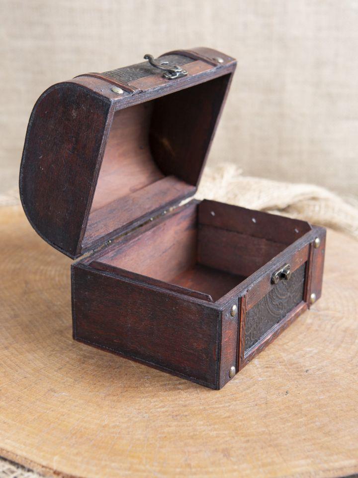 Coffret en bois avec revêtement en cuir 4