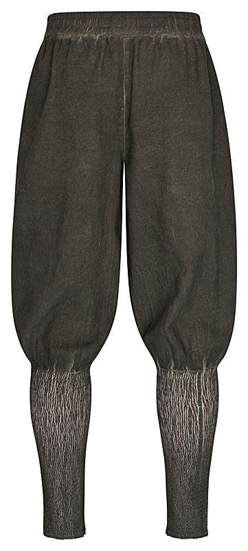 Pantalon Rurik en vert 4