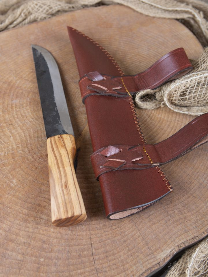 Couteau saxe avec fourreau 4