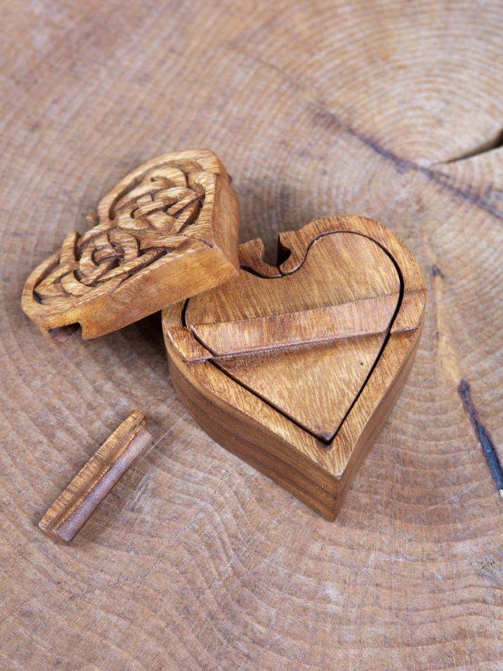 Boîte à bijoux en forme de coeur 4